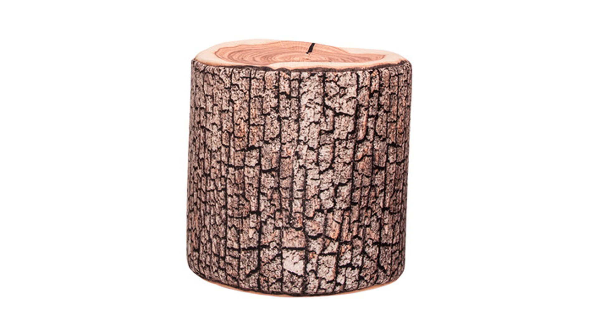 Sitzsack-Hocker Magma sitting point aus Mikrofaser in Braun SITTING POINT Sitzsack-Hocker Dot Com W als Sitzmöbelood Mikrofaser mit Holzprint – Höhe ca. 50 cm